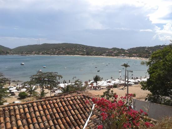 Buzios Summer Park Casas e Suites : A praia vista do alto