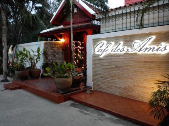 Cafe Des Amis Menu Pattaya