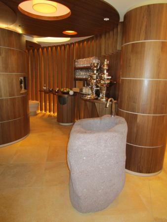 Schlosshotel Fiss: Lounge im Spa