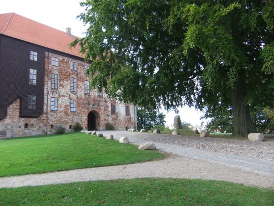 Koldinghus: Front view, at the entrance