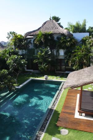 Villa chocolat: Amazing view on the vilal