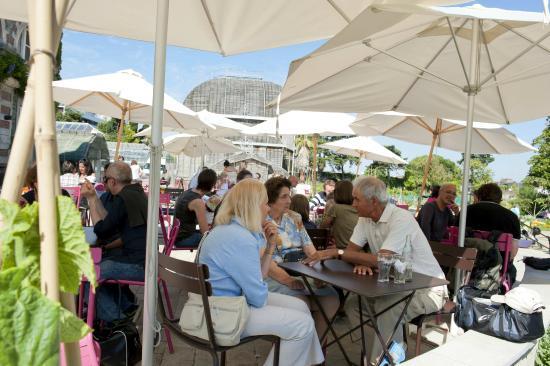 Restaurant de l 39 orangerie foto di jardin des plantes for Restaurant jardin des plantes nantes