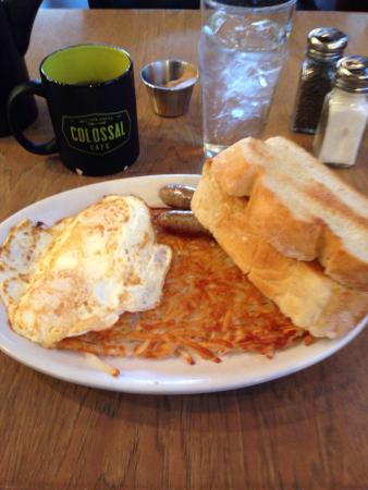 Colossal Cafe: Fantastic Colossal Breakfast!