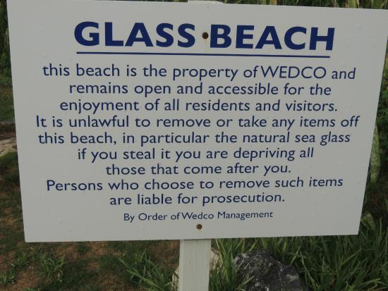 Гамильтон, Бермуды: Please DO NOT remove the glass from this beach
