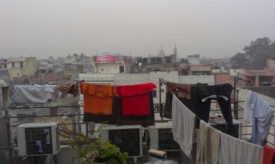 Smyle Inn: Вид с крыши