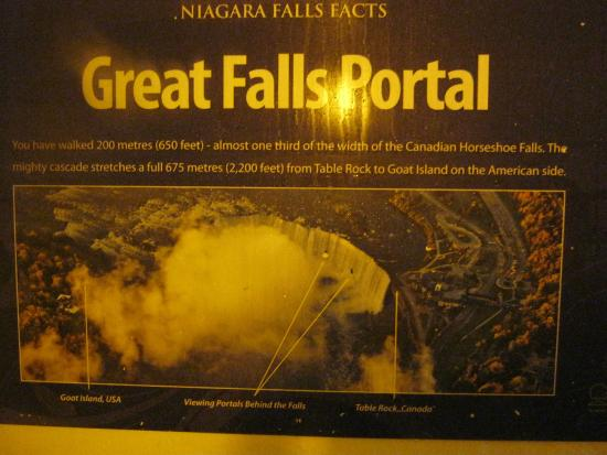 Map Showing You Where The Portals Are Located Picture Of Journey - Us map showing location of niagara falls