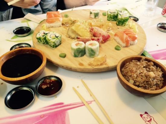 Ocha Sushi: Sushi plaat