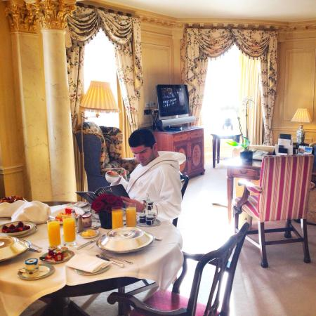 The Dorchester: Mayfair suite