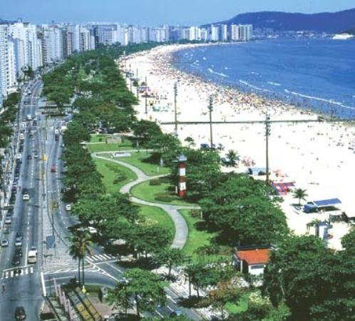 7088e99c0 Orla da Praia de Santos-SP - Foto de Jardins da Orla da Praia ...