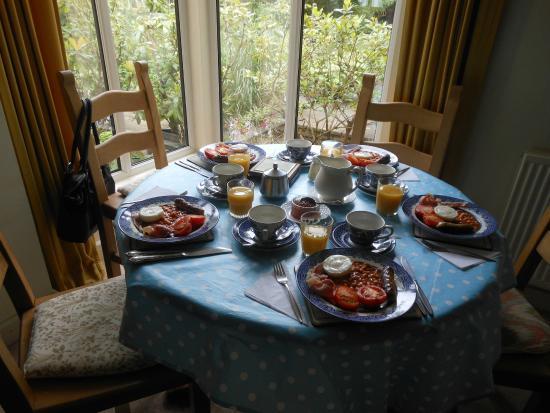 Hobsons House: Breakfast