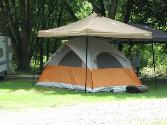 Flintlock Family Campground: Tent Site