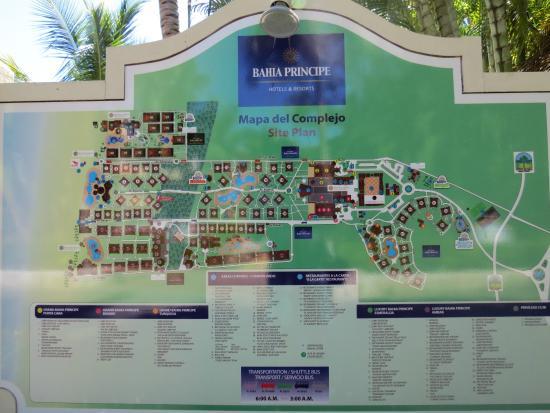 Grand Bahia Principe Punta Cana Map map   Picture of Grand Bahia Principe Punta Cana, Punta Cana