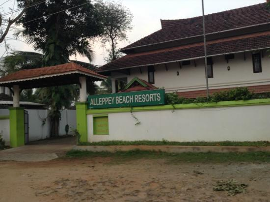 Alleppey Beach Resorts: Main entrance to the resort