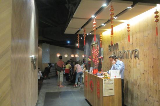 Reception, Shin Kushiya