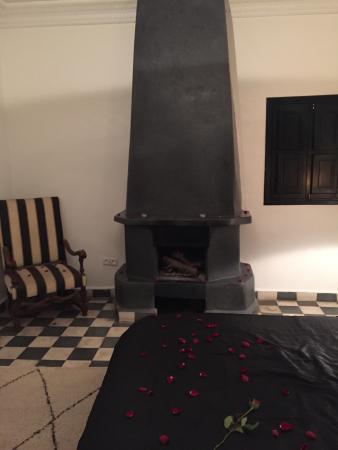 Riad Elizabeth: Olivia Room, Valentine's Day