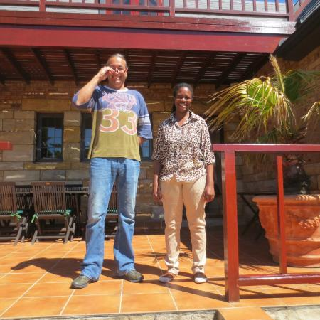 Villa Honeywood Guest House : Daniel und Priska