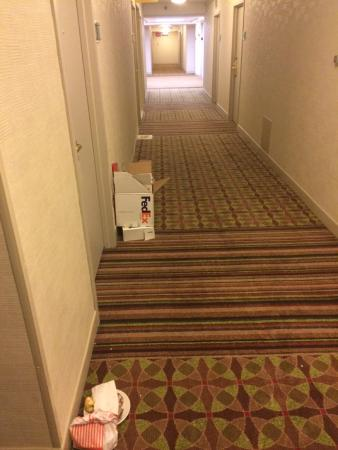 DoubleTree by Hilton Hotel Dallas - Campbell Centre : Room Service on the Floor