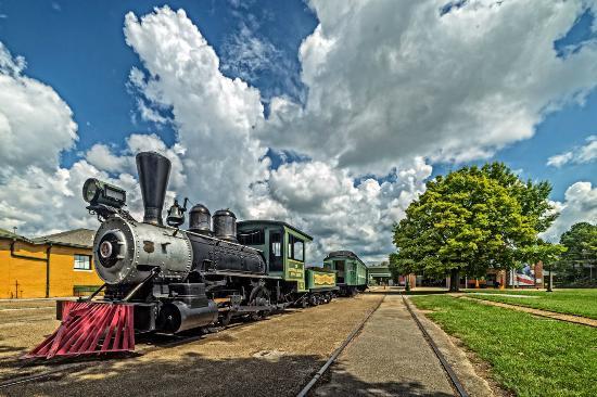 Huntsville Depot Museum: Old Number 4