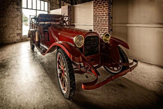 Huntsville Depot Museum: Old Fire Engine