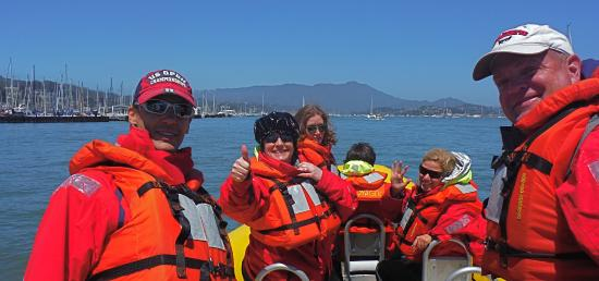 Bay Voyager : Thumbs up!