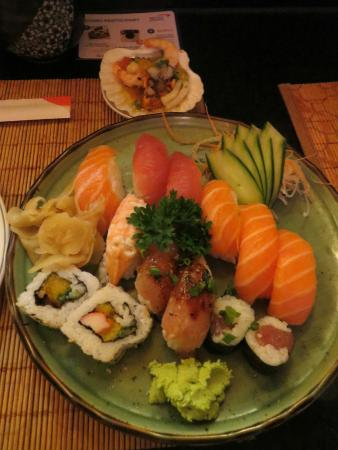 Nik Sushi: sushi was not up to Asian standard