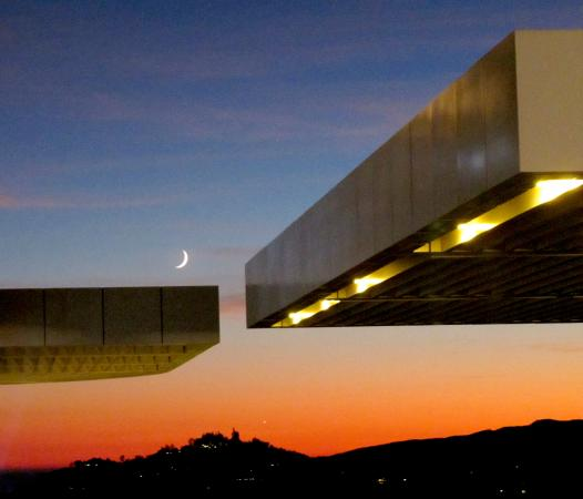 The Getty Center: Sunset at The Getty