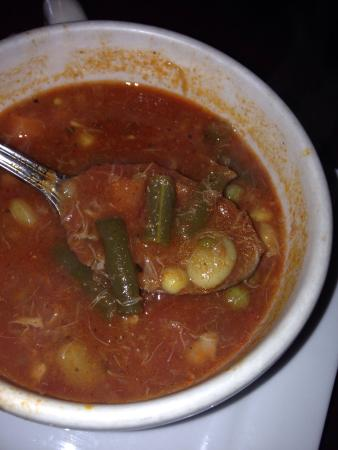 Mario's Italian Restaurant : Crab soup