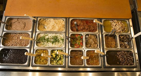 Zia Taqueria: Meal Choices