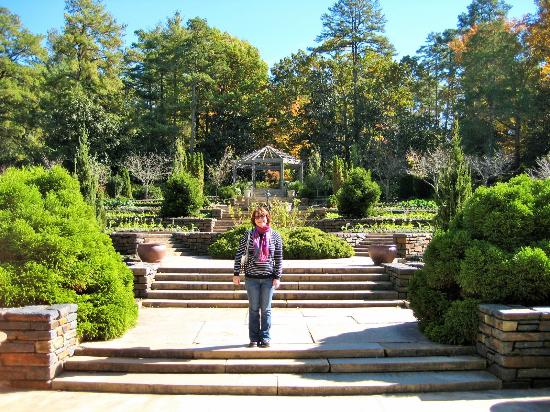 Durham, NC: Genevieve in the Garden
