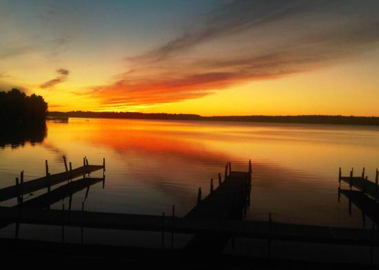 Manhattan Beach, MN: Fall Sunset