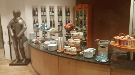 Restaurant at Hotel Maximilian: A small section of the breakfast offerings.