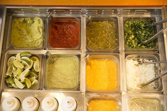 Zia Taqueria: Salsas