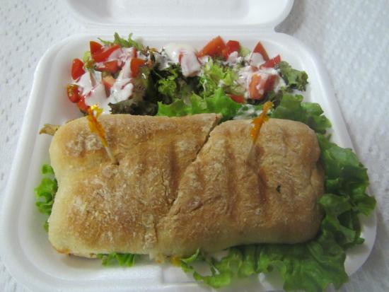 Sandwich Factory Boquete: Emparedado de Pollo a la Plancha