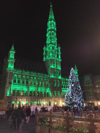 Kleurlijke verlichting - Foto van Grote Markt (Brussel), Brussel ...