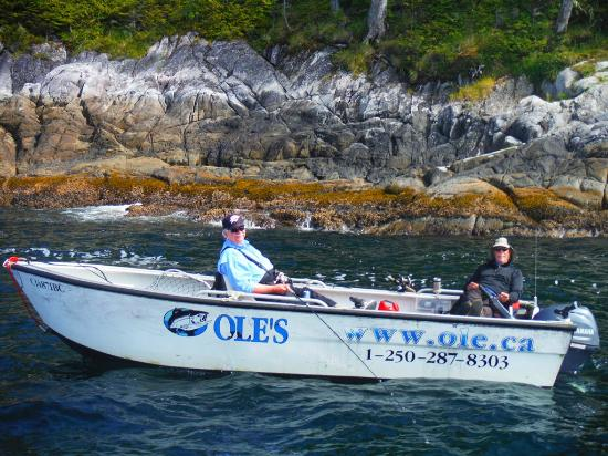 Chillaxing on board picture of ole 39 s hakai pass fishing for Campbell river fishing