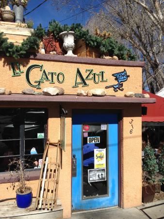El Gato Azul : FRONT