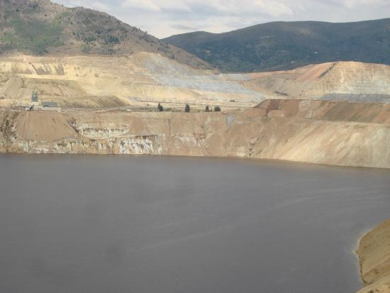 Berkeley Pit: pit overview