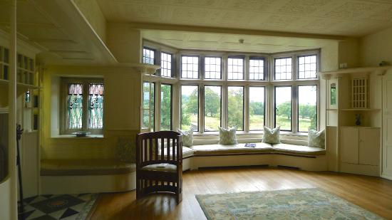 Blackwell Arts And Crafts House White Drawing Room