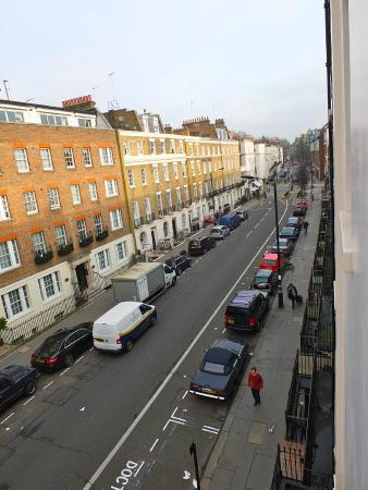 The Lord Milner: View along Ebury Street