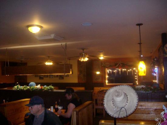 Main dining area, Chuckwagon Cafe, Lava Hot Springs, ID
