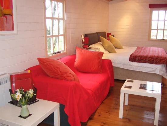 Trefin, UK: Open plan living area