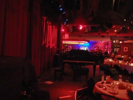 Birdland: View from our table