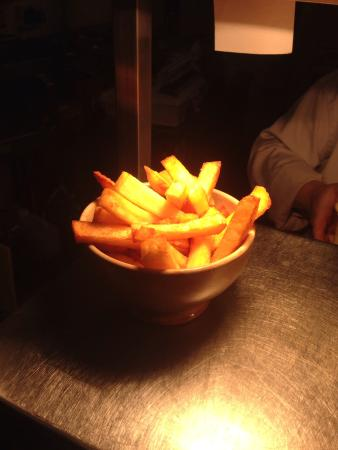 the chetwynd arms, upper longdon: Lovely home made chip