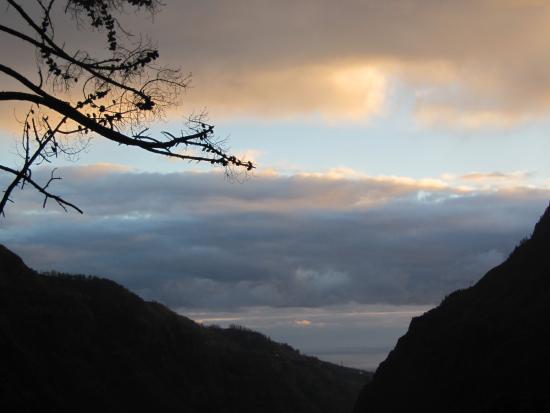 Dorisol Pousada dos Vinhaticos : evening from Pousada