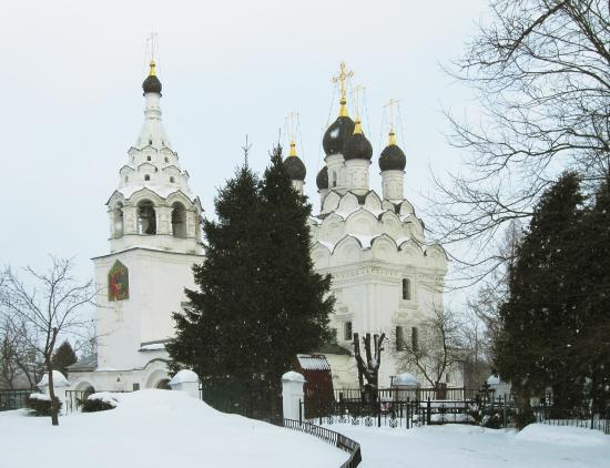 Komyagino, Russland: Храм в Комягино
