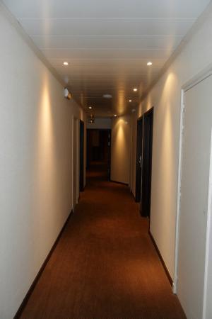 Mercure Le Mans Centre : les couloirs