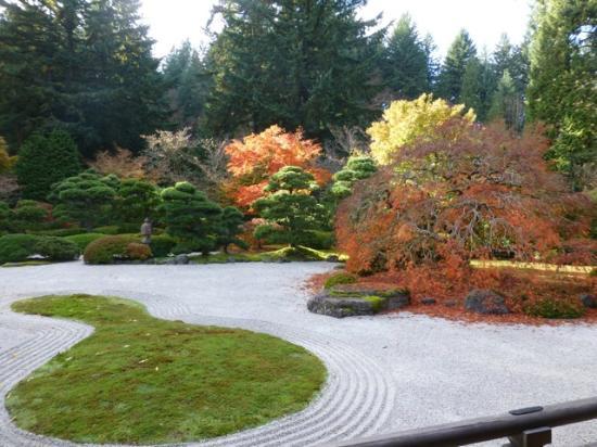 Waterfall Picture of Portland Japanese Garden Portland