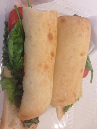 Corner Bakery - 14th St. NW: Mozzarella sandwich