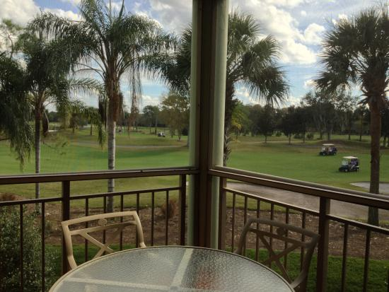 Marriott's Royal Palms : View from our Screened in Patio