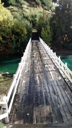 Río Correntoso: Puente